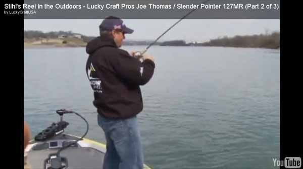 uk availability 5610f 25b4f Reel in the Outdoors – Joe Thomas Fishing with Slender Pointer
