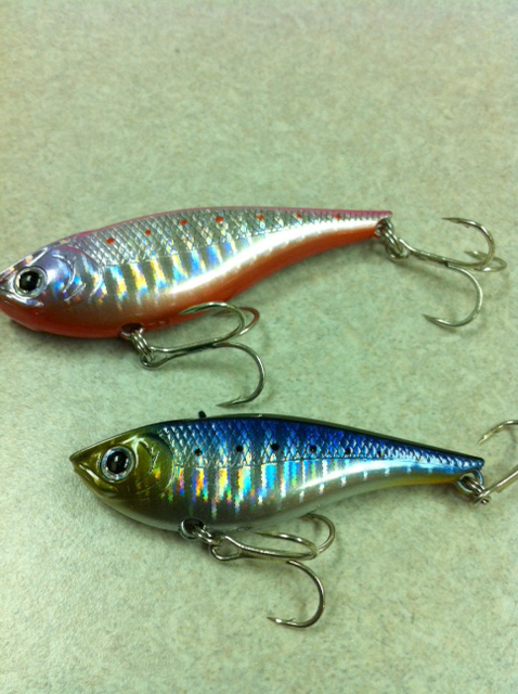 Lucky craft blog news new lure sv for Lucky craft saltwater lures